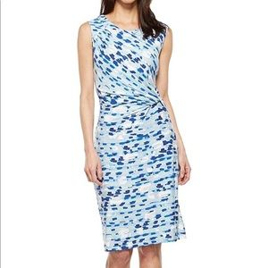 Nic+Zoe | Water Lane Sheath Dress with Twist